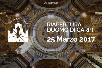 Riapertura Cattedrale Carpi
